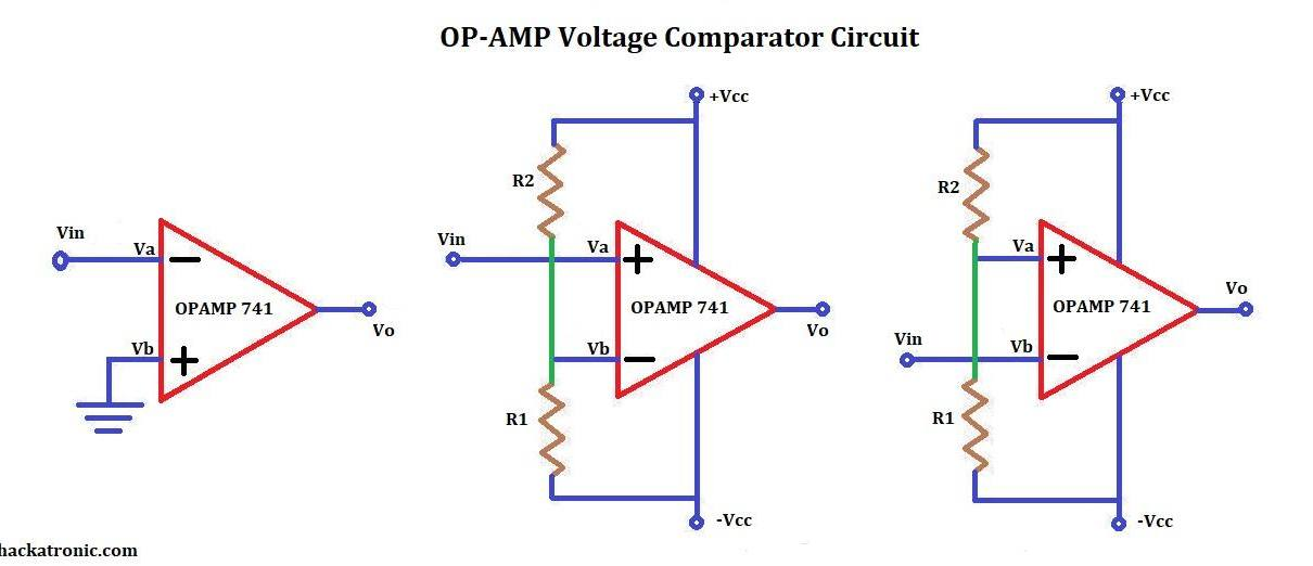 opamp comparator circuit