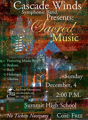 Cascade Winds Symphonic Band concert