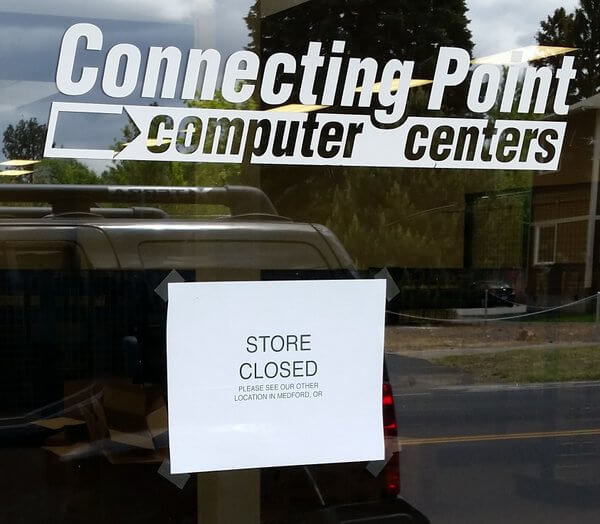 Connecting Point is closed