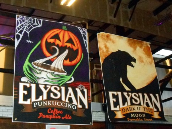 Elysian Brewing Great Pumpkin Beer Fest