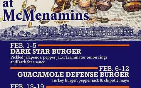 McMenamins Burger Month