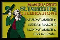 McMenamins St. Patrick's Day Celebrations