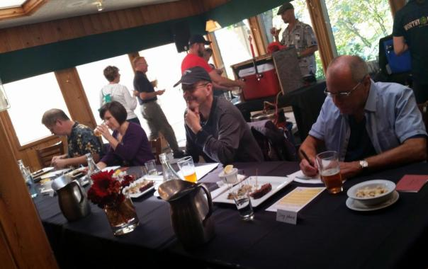 Pine Tavern beerfest judges