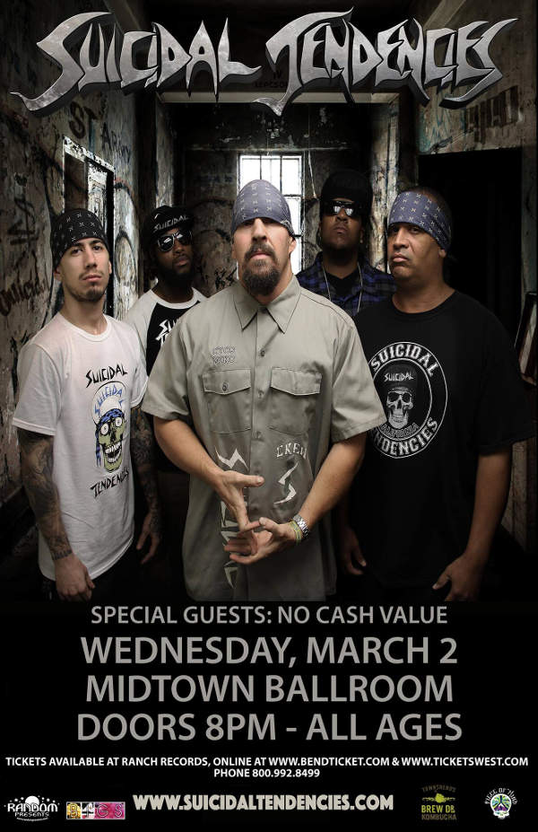 Suicidal Tendencies at the Midtown Ballroom