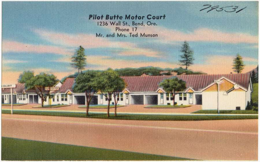 Tourism - Pilot Butte Motor Court