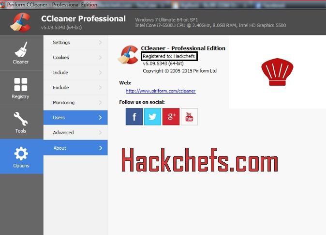 ccleaner professional keys