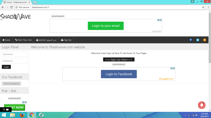 How To Hack Any Facebook Account Using Shadowave : Tutorial [Part 5]