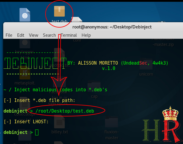 - test - How To Hack Kali Linux, The Hacker's OS, Using DEBINJECT ?! : Tutorial