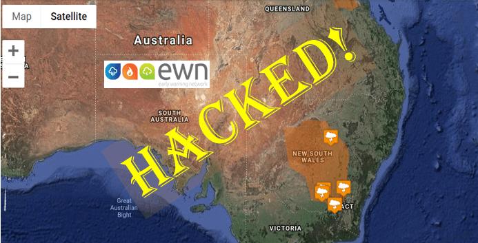 Early Warning Network EWN Hacked