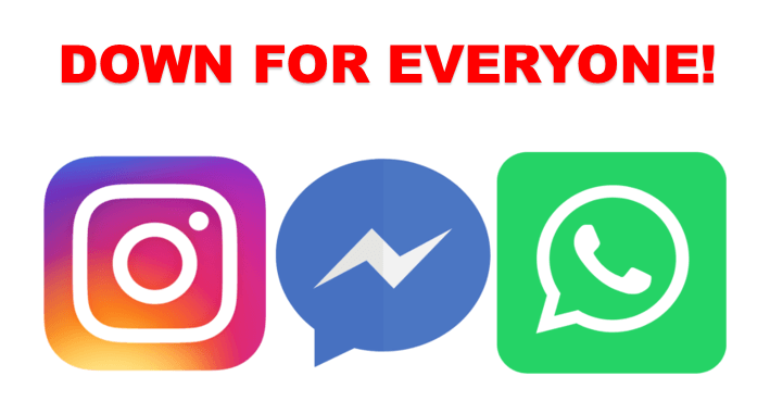 FB WhatsApp and Instagram Down
