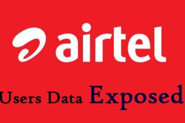 Airtel Data Exposed
