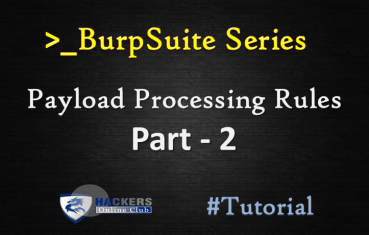 Burpsuite Payload Processing Rule Part-2