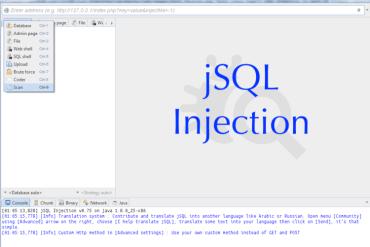 jSQL Injection