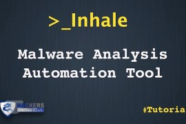 Inhale Malware Analysis