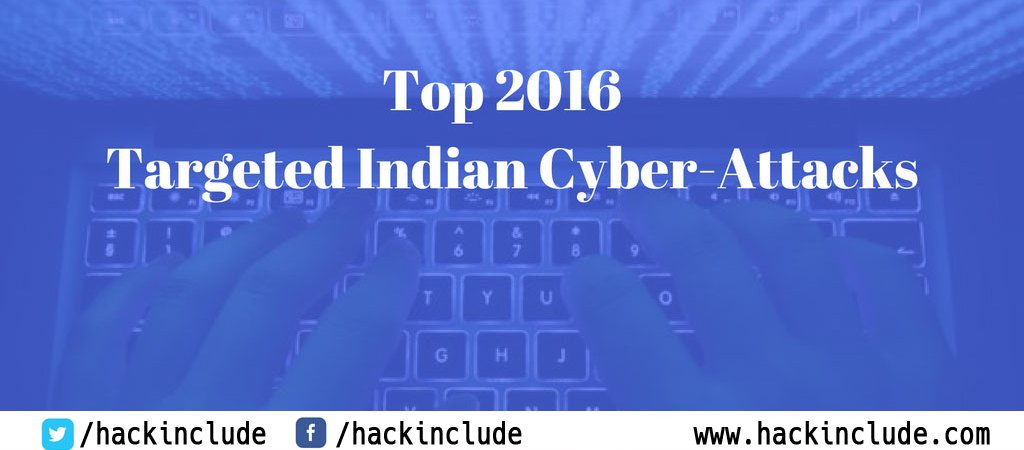 Targeted Indian Cyber Attacks