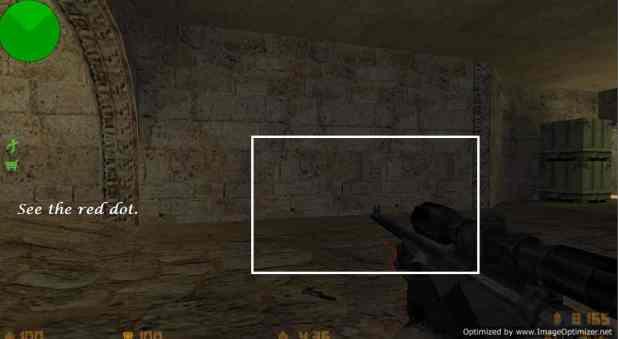Unzoom Crosshair trick in Counter Strike