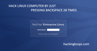 Hack Linux Computer with Backspace Key