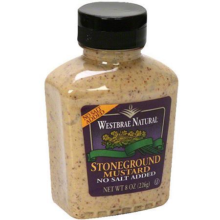 Westbrae Natural Stoneground Mustard