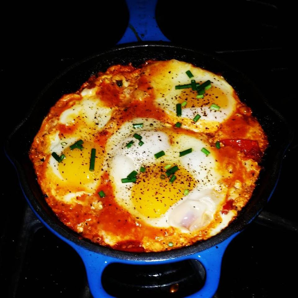 Low Sodium Shakshuka