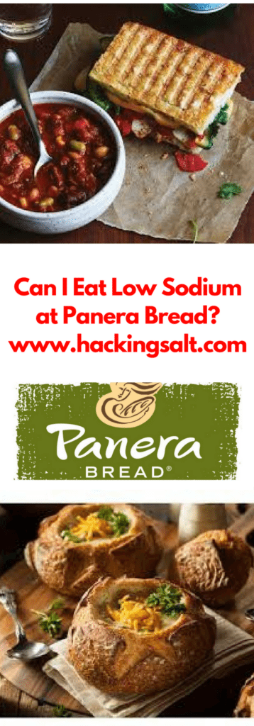 Can I Eat Low Sodium At Panera Bread?