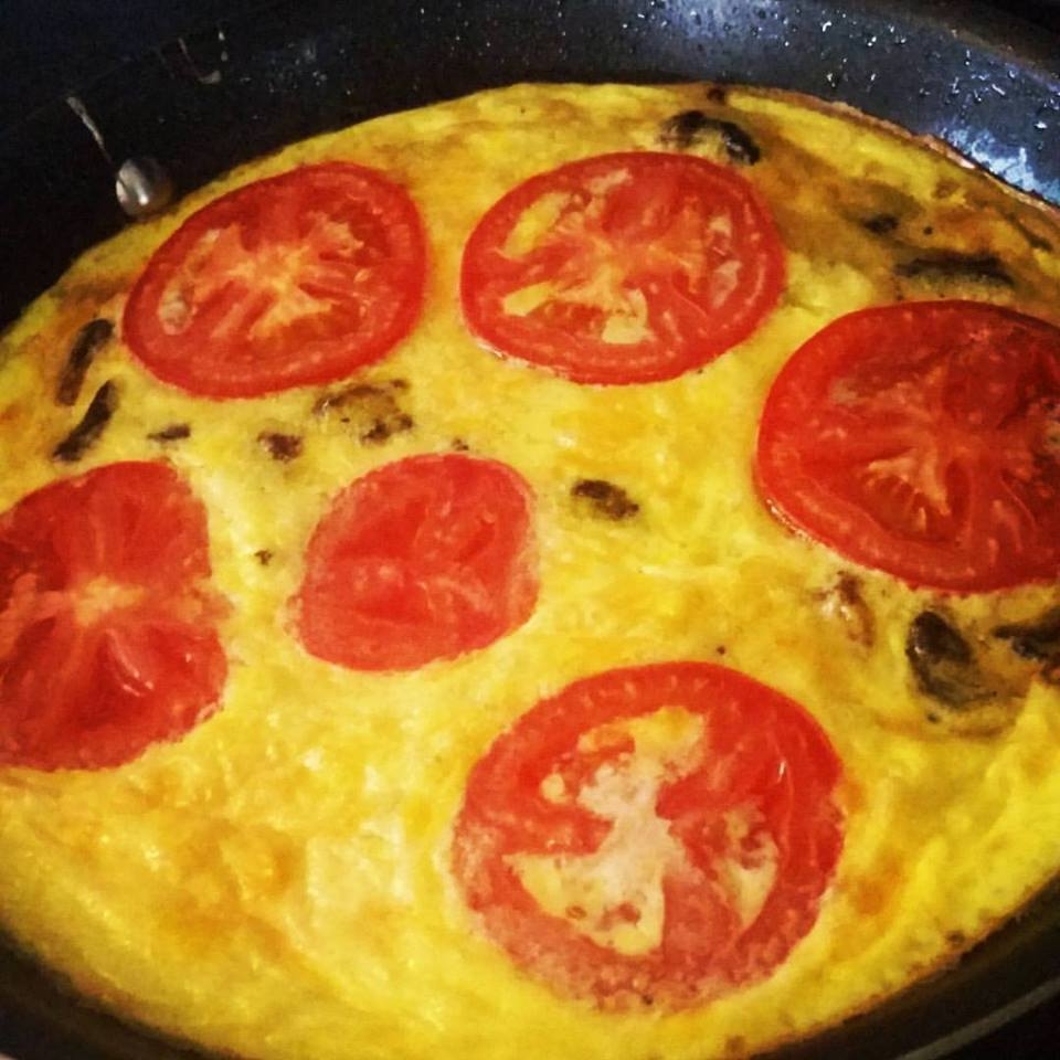 Low Sodium Zucchini Frittata - for breakfast, brunch, or anytime.