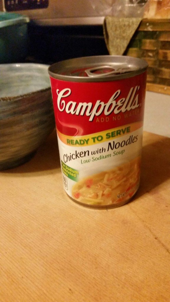 Campbell's Chicken with Noodles Low Sodium Soup