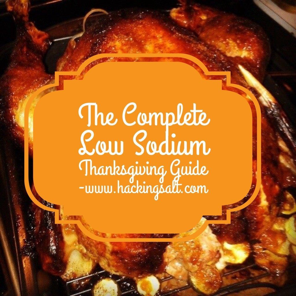 Complete Low Sodium Thanksgiving Guide