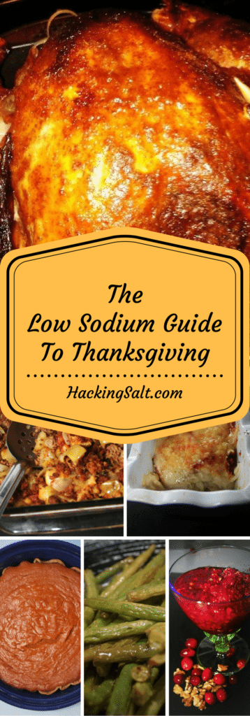 The Complete Low Sodium Thanksgiving Guide