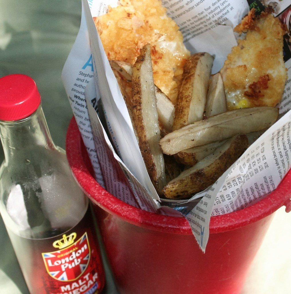 Low Sodium Fish and Chips