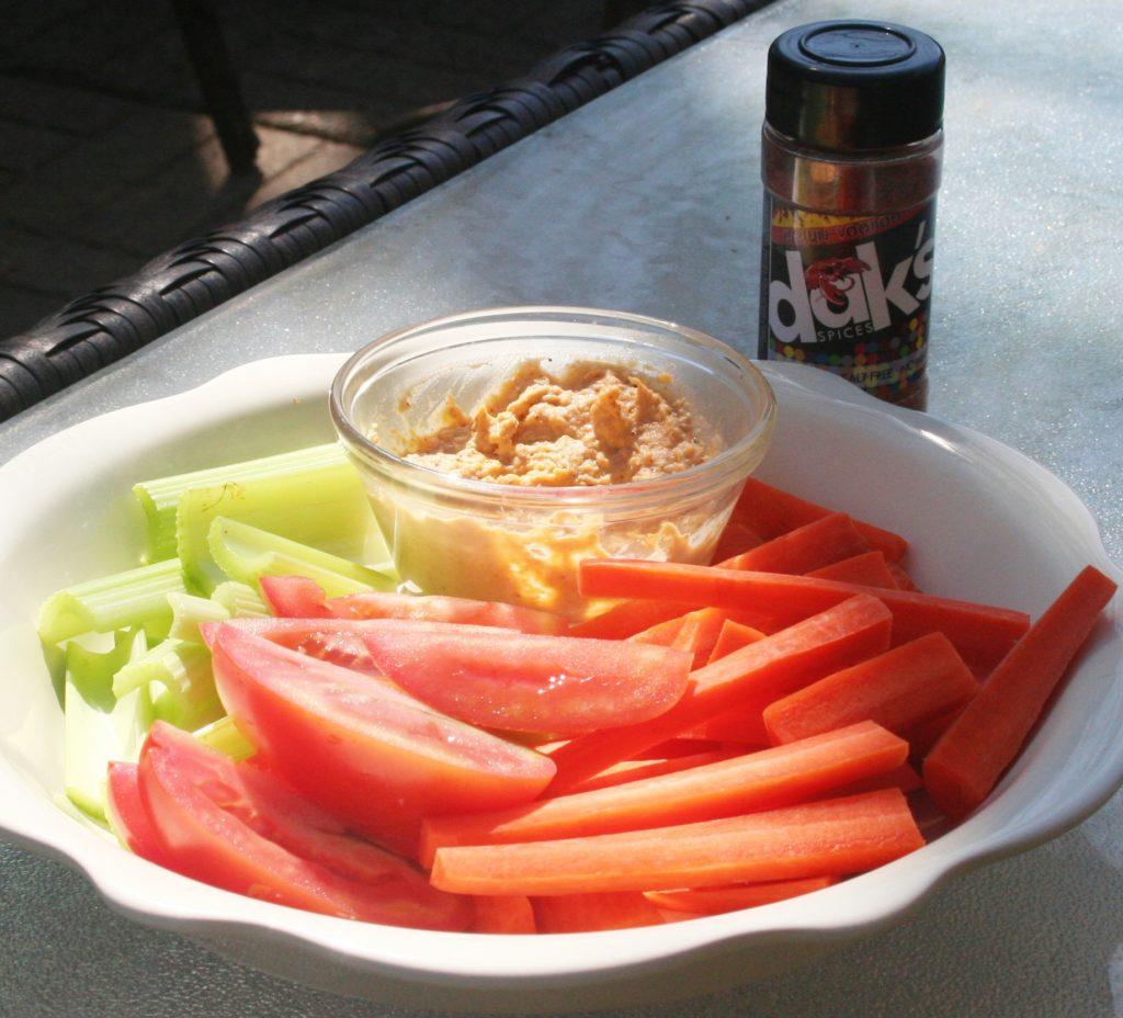 Low Sodium Hummus - Cajun Style