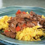 Low Sodium Beef Stroganoff