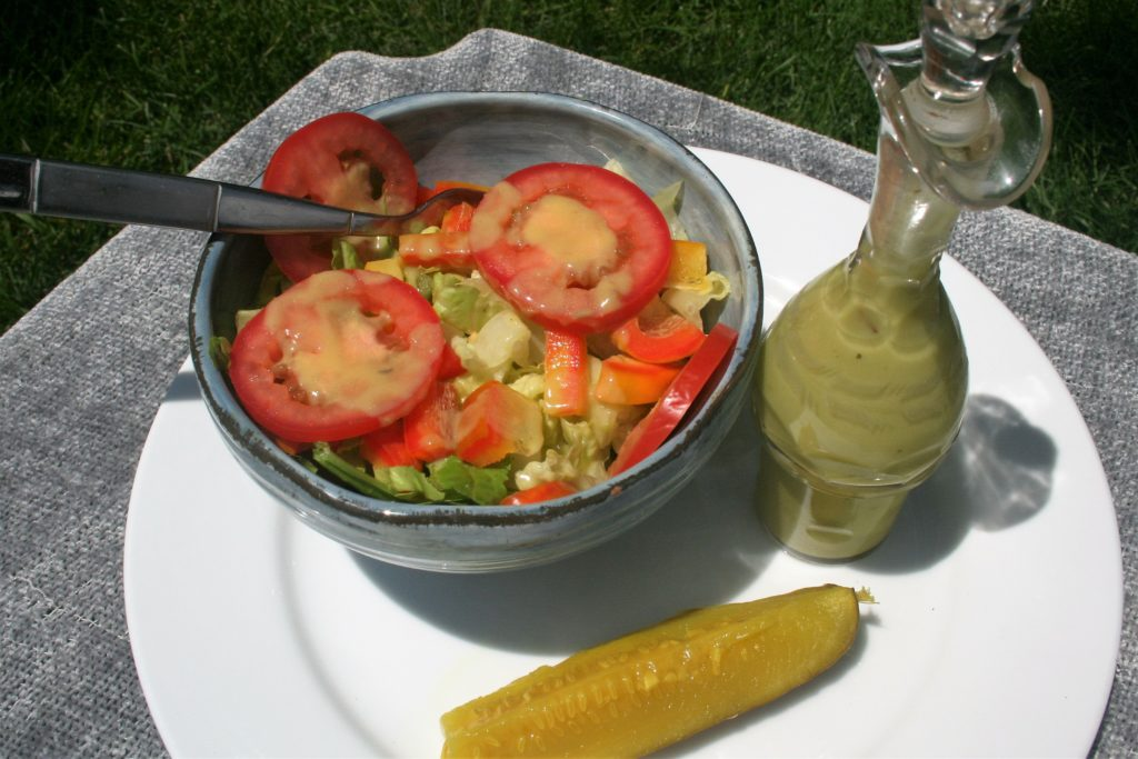 Low Sodium Creamy Dill Pickle Dressing