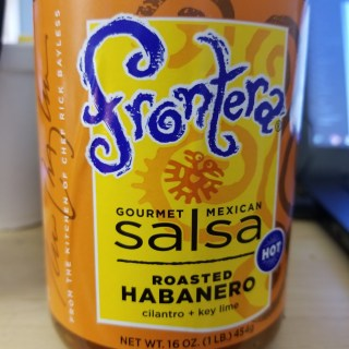 Low Sodium Hot Salsa – Frontera Habanero Cilantro Lime Salsa