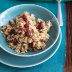 Low Sodium Overnight Spiced Oatmeal With Cranberries