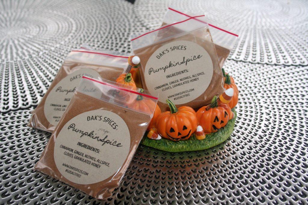 Salt Free Pumpkin Spice From Dak's Spices