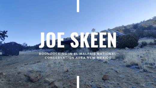 Joe Skeen banner