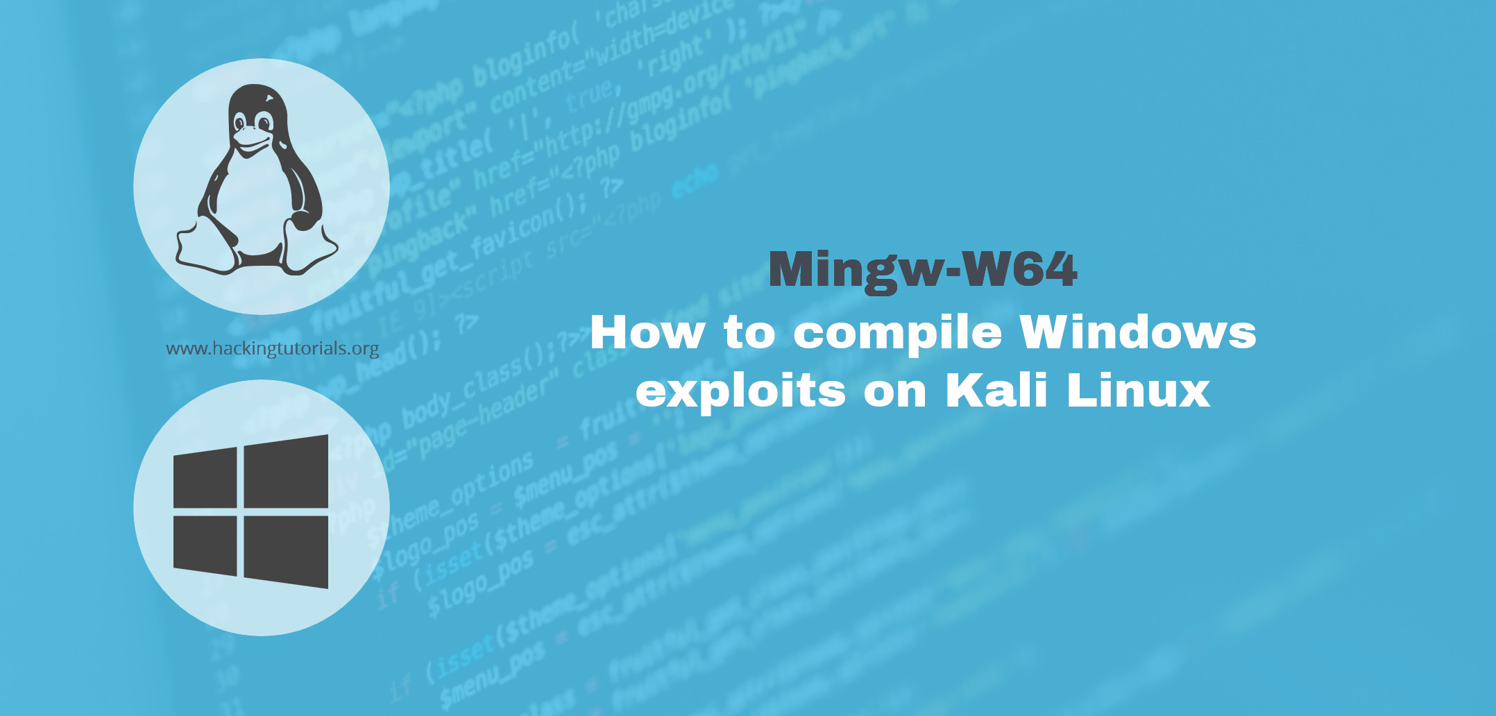 Mingw W64 How To Compile Windows Exploits On Kali Linux