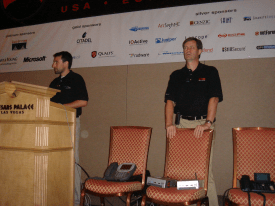 Mark and Dave at Black Hat