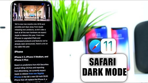 How to use Safari in Dark mode in iOS 11