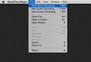 How to mirror iPhone to Mac free with quicktime