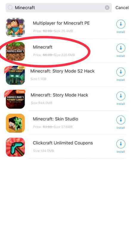 How to download minecraft for free ios 15