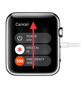 how to reset apple watch without iPhone