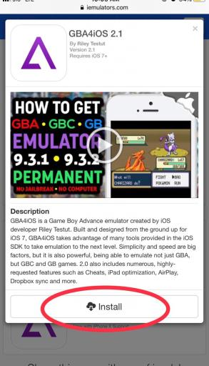 Gba4iOS install