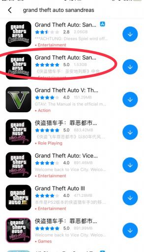 Download GTA San Andreas on iOS for Free
