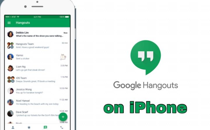 How to Use Google Hangouts on iPhone