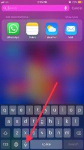 Crash an iPhone iOS 12