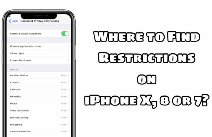 Where are restrictions on iPhone 11