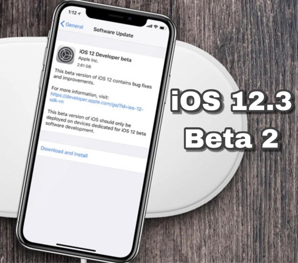 iOS 12.3 Beta 2 Download