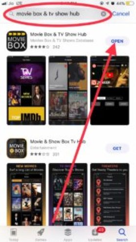 Movie box App Store