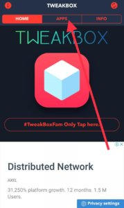 Apps Category of Tweakbox